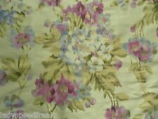 Designers Guild Curtain Fabric ROSAMUND 3.0m Heather 100% Silk Design - Floral