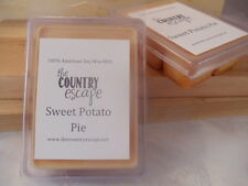 Sweet Potato Pie Scented Soy Wax Clamshell Melt Tart- 2wks of Fragrance