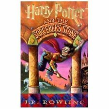 Harry Potter and the Sorcerer's Stone by J. K. Rowling (1997 HC / Large Print)