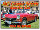 MG 2014 Classic British Sports Car Wall Calendar - Quality Framable Photos