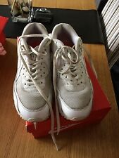 Womens Nike Air Max 90 Prem - White - Size 5