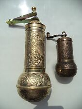 Turkish Handmade Coarse Adjustable Coffee Grinder and Salt Pepper Spice Mill