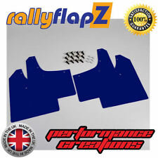 rallyflapZ RENAULT CLIO MK3 (05-12) Rally Style Mud Flaps Mudflaps Blue 3mm PVC