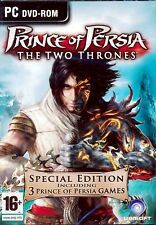 Prince of Persia (3 PC Games) Trilogy (Two Thrones,Sands of Time,Warrior Within)