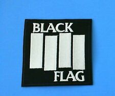 BLACK FLAG  BAND IRON ON PATCH PUNK ROCK NEW HENRY ROLLINS