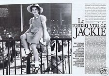 Coupure de presse Clipping 1994 Le Roman vrai de Jackie Kennedy (5 pages)