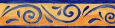 Bordo adesivo con onde blue 173658