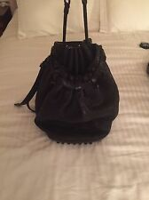 Alexander Wang Diego Bucket Bag Matte Black Hardware