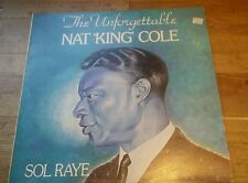 Nat King Cole Sol Raye - The Unforgettable Nat 'King' Cole Vinyl LP