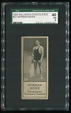 1924 Wilard's Chocolates #22 Norman Ross SGC 40 VG Cert #1230019-322