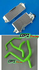 aluminum alloy radiator and hose Kawasaki and KX450F KXF450 2010 2011 10 11