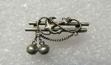 Antique Russian Imperial Silver 84 Anchor Pin Brooch 7,4 gr.