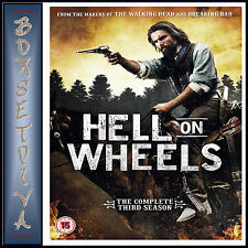 HELL ON WHEELS - COMPLETE SEASON 3  **BRAND NEW DVD**