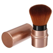 Neu Pro Einziehbare Blush Brush Foundation Puder Rouge Make up Pinsel mit Kappe