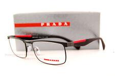 Brand New Prada Sport Linea Rossa Eyeglass Frames PS 54FV DG0 MATTE BLACK Men