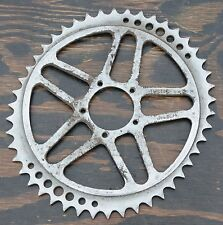 Antique Bicycle THETIC Oval Brevete Chainring Pista Track Bike Raleigh Sprocket