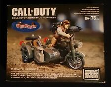 Call of Duty SIDECAR PURSUIT MEGA BLOKS 10+ 76PCS NISB READY TO SHIP