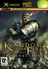 Kingdom Under Fire: The Crusaders & heroes Xbox Tested FREE SHIPPING!