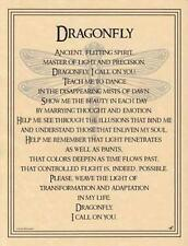 Dragonfly Parchment Page for Book of Shadows!   pagan wicca witch