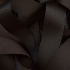 "Grosgrain Ribbon 1 3 or 5 Metre Cut of 50mm - (2"") in 36 Plain Solid Colours"