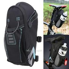 Cycling Bicycle Saddle Bag Pannier Folding Bike Seat Bag Tail Storage Bag