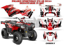 AMR Racing DECORO GRAPHIC KIT ATV POLARIS SPORTSMAN modelli Carbon-x B