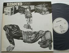RESOUND Resoundings RARE UK LP MATCHLESS Rec. (1986)E.PREVOST Free jazz NMINT