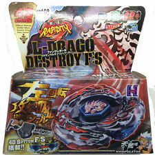 L-DRAGO DESTROY BEYBLADE 4D TOP METAL FUSION FIGHT MASTER NEW + LAUNCHER HOT