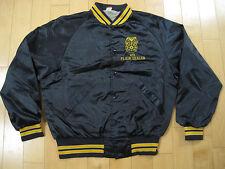 Wow! 80s vintage Teamsters Union Local 473 Plain Dealer satin Jacket coat Large