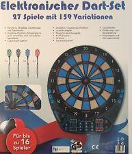 Elektronische Profi Dartscheibe LCD Dart Dartspiel 12 Dartpfeile Dartboard