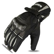 Motorbike Winter Gloves Motorcycle Racing Cowhide Leather Waterproof Thermal XL