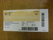 30/03/2013 Ticket: Manchester City v Newcastle United  (Light Crease). Thanks fo