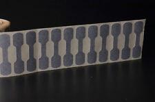 100 Argento Gioielli etichette auto-adesivo supporto manubrio cartellini dei prezzi