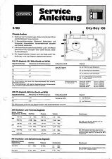 Service Manual for Grundig City Boy 100