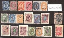 Russia  Offices in Turkey  Early 1900's used  20 Diff   Cat Val $20+