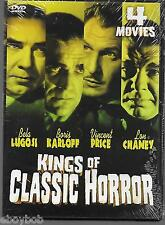 Kings Of Classic Horror DVD 4 Movies On Two Double-Sided Discs New & Sealed
