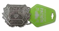 PATRON - TEQUILA BEE LOGO METAL BELT BUCKLE - NEW 100% AGAVE