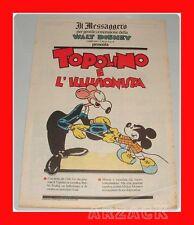 TOPOLINO supplemento IL MESSAGGERO 16 Dicembre 1989