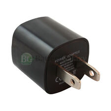 USB Black Universal Battery Wall Power Outlet Charger Plug for Cell Phone iPod