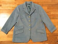 Ralph Lauren Wool Peacoat Blue Women's Size 18 W