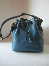 LOUIS VUITTON HANDBAG PETITE NOE EPI LEATHER IN BLUE A20992