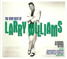 THE VERY BEST OF LARRY WILLIAMS - 2 CD BOX SET - SLOW DOWN, TEARDROPS & MORE
