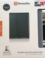 GENUINE XTREME MAC CASE FOR IPAD 2 / 3 / 4 *MICRO SHIELD SILK SCREEN DARK GREY *
