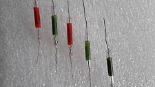 Set 5+ pcs  KVM Russian military vacuum glass resistor 100M 1G 10G 100G 1000GOhm