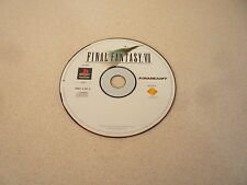 Final Fantasy VII disco 3 de 3 SONY PLAYSTATION 1 PS1 tridimensionales PAL