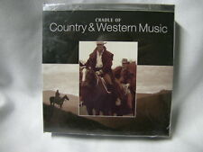 Cradle of Country and Western Music Box-Set 10 CD NEW NUOVO SIGILLATO