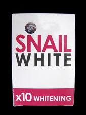 SNAIL WHITE SOAP GLUTA GLUTATHIONE WHITENING SKIN FACE BRIGHTENING BODY 70g