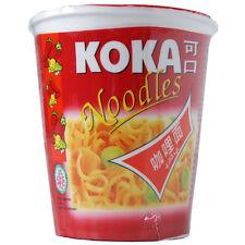 KOKA ORIENTAL STYLE INSTANT POT NOODLES CURRY FLAVOUR - 12 CUPS