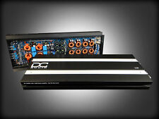DC AUDIO 5.0k 1 Channel Mono Amplifier 5000 Watts RMS Output w/ Bass Knob 5k