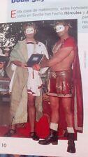 CLIPPING RECORTE boda gay en sevilla hercules y julio cesar gay wedding